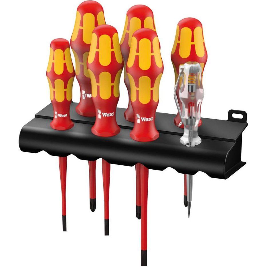 Kruvikeerajate komplekt ( 1000V ) 7tk. Wera