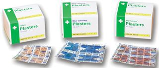 PLASTER, FIRST AID, FABRIC, LARGE