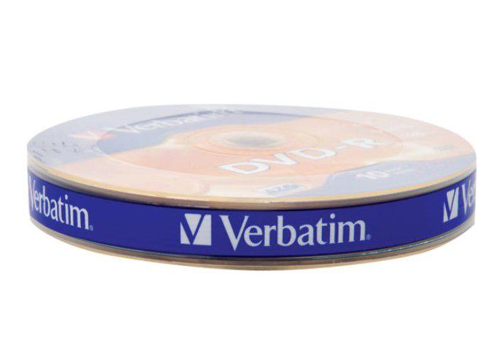 DVD-R 4.7GB (120min) 16x, 10 pcs