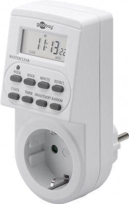 Programmeeritav taimer LCD, 230Vac 16A TM / NU2