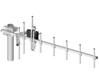 GSM antenn: ATK 10 800-980MHz (10-el., 12, 8 dB, 10m kaabel + SMA)
