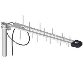GSM / DCS / UMTS / HSDPA antenn: ATK-LOG (5 m kaabel, SMA / RP pistik)
