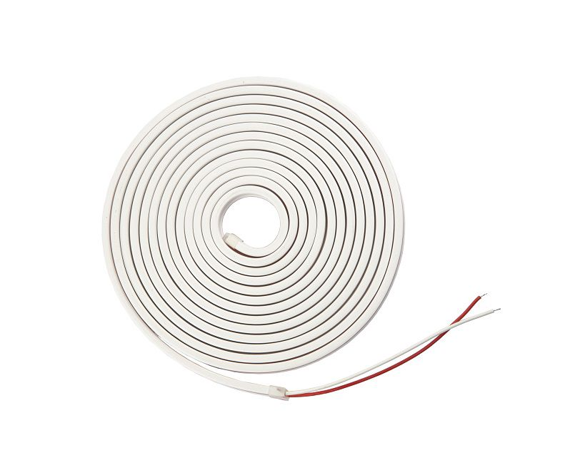 LED strip NEON FLEX 24Vdc, 9.6W/m, 120LED/m, 4x10mm neutral white, 10m reel, IP67, AKTO