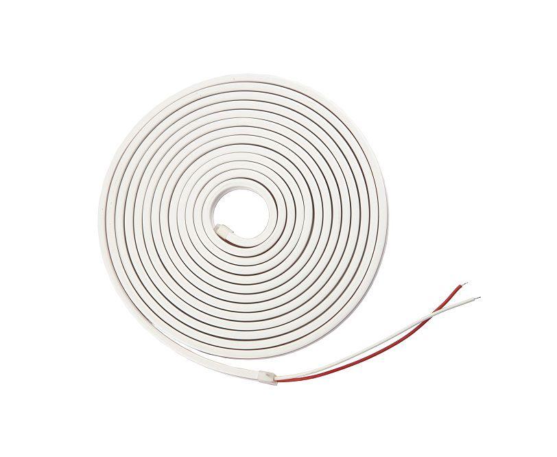 LED strip NEON FLEX 24Vdc, 9.6W/m, 120LED/m, 6x12mm warm white, 10m reel, IP67, AKTO
