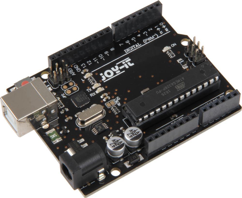 Microcontroller UNO Rev3 (Arduino UNO-compatible) based on ATMega328  JOY-IT