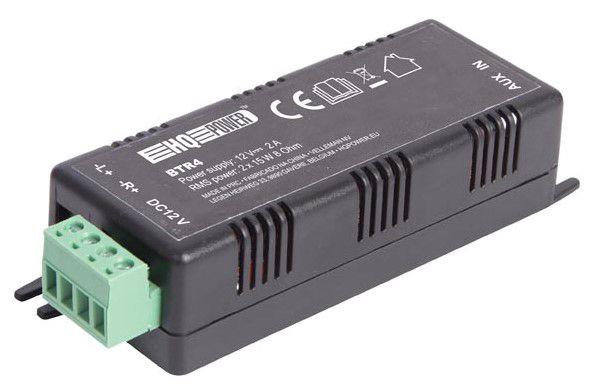 Juhtmeta audiovõimendi 2 x 15 W  Bluetooth, AUX ühendus
