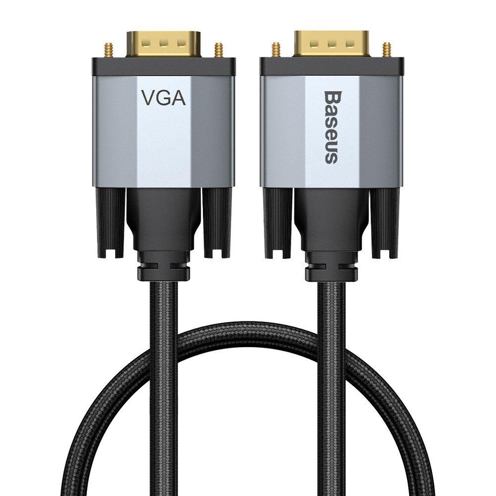 Kaabel VGA pistik - VGA pistik 1,0 m tumehall Enjoyment BASEUS