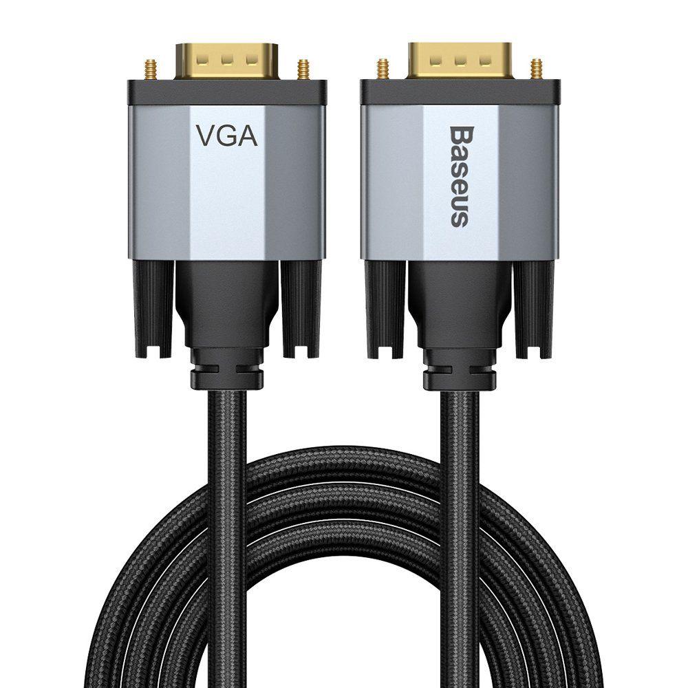 Kaabel VGA pistik - VGA pistik 2,0 m tumehall Enjoyment BASEUS