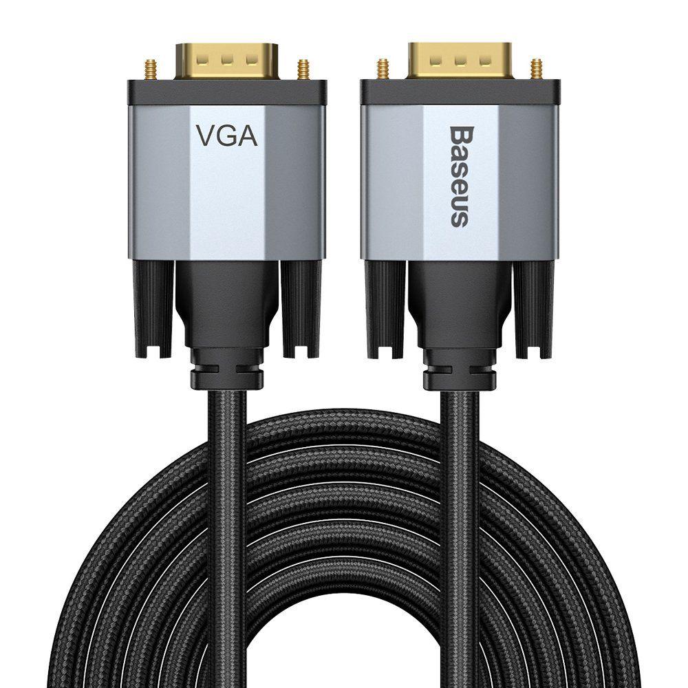 Kaabel VGA pistik - VGA pistik 3,0 m tumehall Enjoyment BASEUS