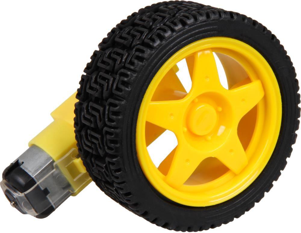 Joy-iT Gear motor including wheel