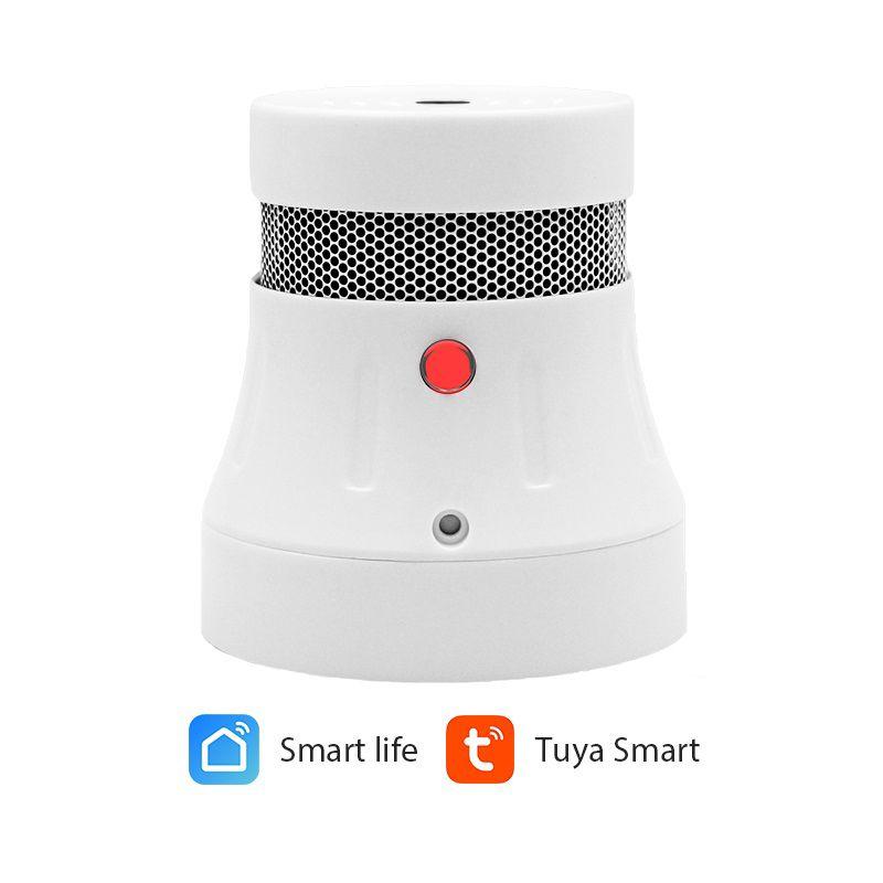 Smoke detector with WiFi, works with TUYA, >85dB, wireless, CPvan