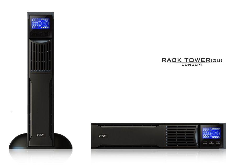 Uninterruptible Power Supply Custos 9X+ 1000VA 900W, Online, Rack/Tower 2U, FSP