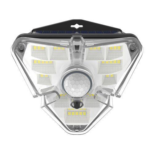 LED luminaire with solar battery and motion sensor, 1.2W, 1200mA, IPx5, BASEUS
