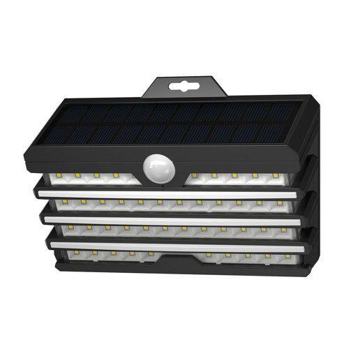 LED luminaire with solar battery and motion sensor, 5.1W, 1800mA, IP65, BASEUS