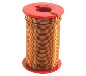 Lacquered copper wire Ø2.0mm spool 250g
