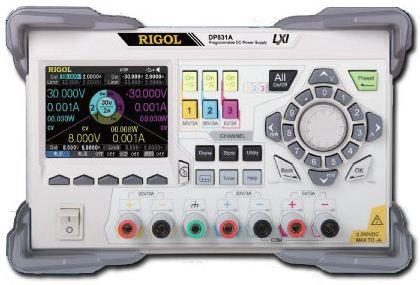 Programeeritav toiteallikas DP831A, 3 väljundit, 160 W, RIGOL