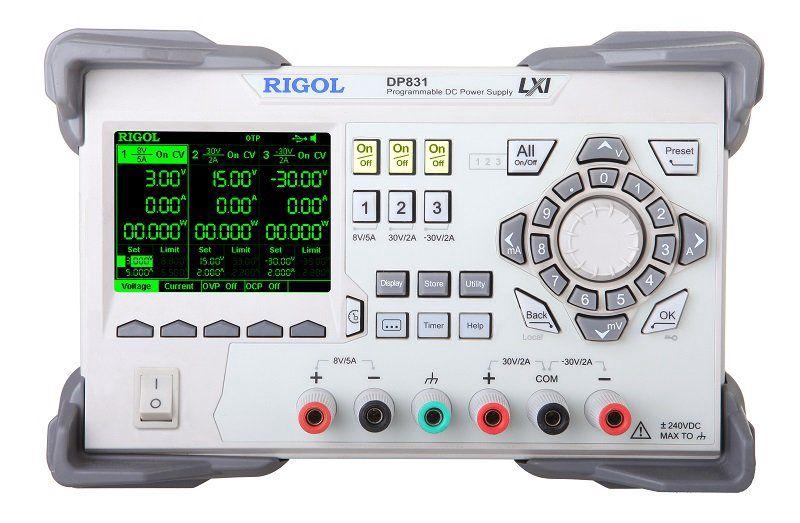 Toiteallikas DP831A 3 väljundiga 160 W, RIGOL