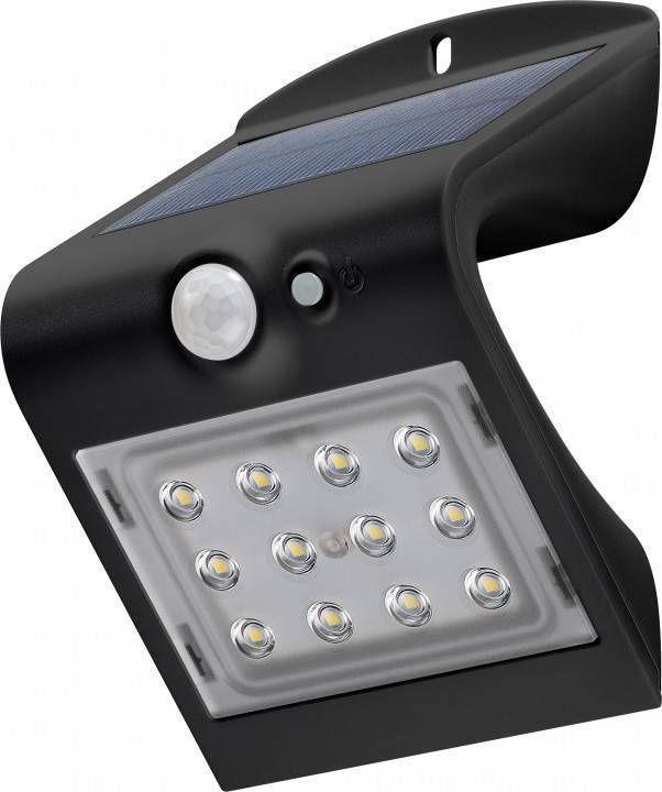 LED-seinavalgusti koos liikumisanduriga, 1,5 W - sissepääs / varikatused / trepikojad