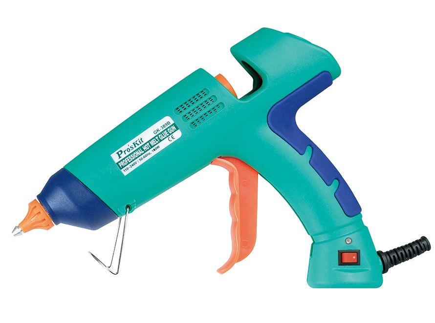 Professionaalne HotMelt liimipüstol 100W 170 (200)°C, GK-389B Pro'sKit