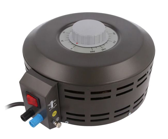 Variable autotransformer; 230VAC; Power: 3.38kVA; Uout: 0÷260V; 13A