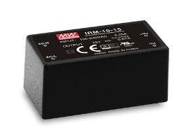 Impulss - toiteplokk AC/DC, 10.2 W, 12V,  0.85A, PCB, Mean Well