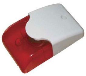 Sireen punase vilkuriga 12V, siseruumidesse