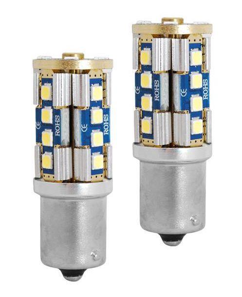 LED CANBUS 1156, 20LED 3030, 9-30V, 2pcs, LTC