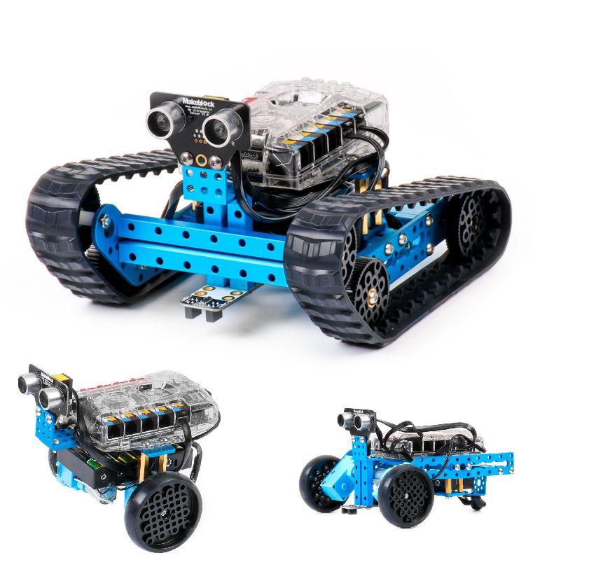 Robot -konstruktor kolm ühes mBot Ranger (Bluetooth) MakeBlock (90 osa)