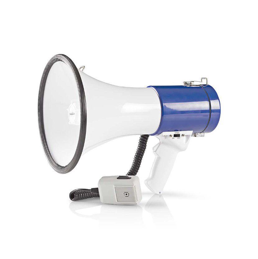 Megafon 25W eemaldatava mikrofoniga (tööulatus 1500 m)