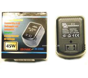Pingemuundur 220/110Vac 45W MINWA, plug-in