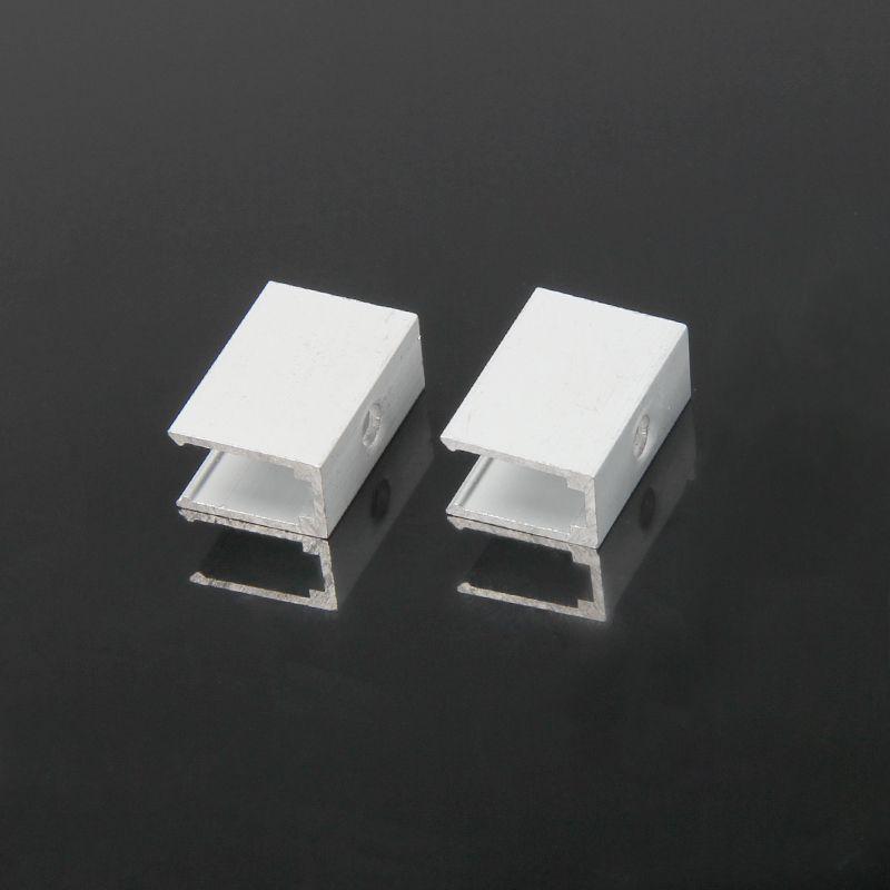 Holder for NEON FLEX 6x12mm, 1pc, aluminum