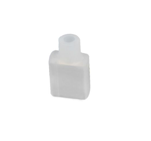 Endcap for NEON FLEX 6x12mm, with straight hole