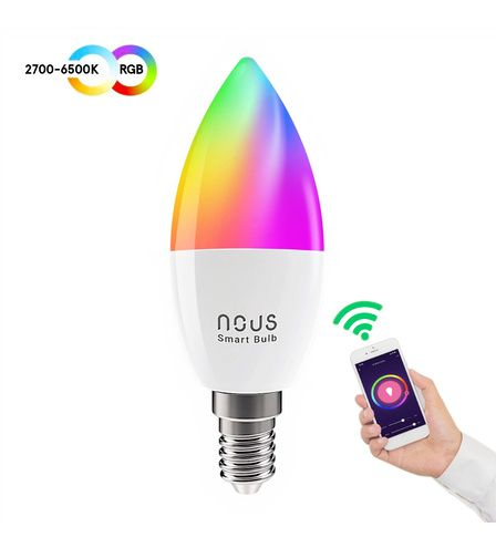 NOUS P4 Smart WIFI Bulb RGB E14, TUYA / Smart Life
