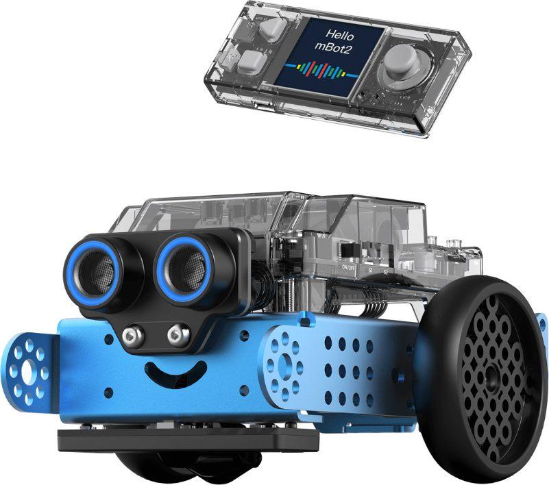 STEM Education Programmable Robot Kit mBot2 blue Makeblock