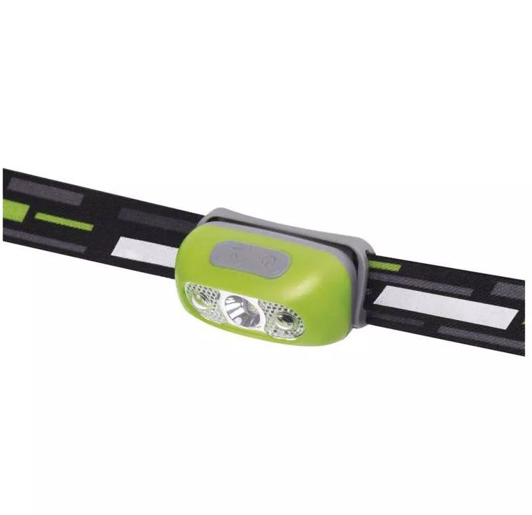 CREE LED Rechargeable Headlamp, 230 lm, Li-Pol 1200 mAh