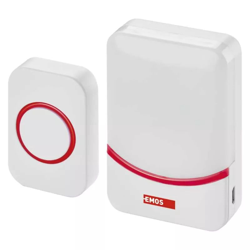 Wireless Doorbell, 90dB, 3xAAA or micro-USB 5V, P5732, EMOS