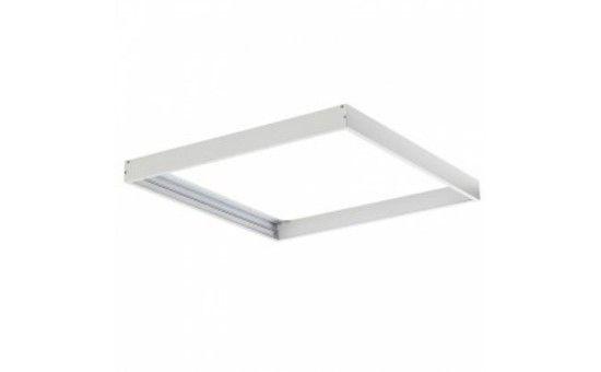 Frame for the panel LED, EC79390, white, surface, L600mm, W600mm