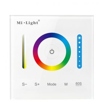 Remote control for Mi-Light controllers RGB + CCT, wall mounted, wireless
