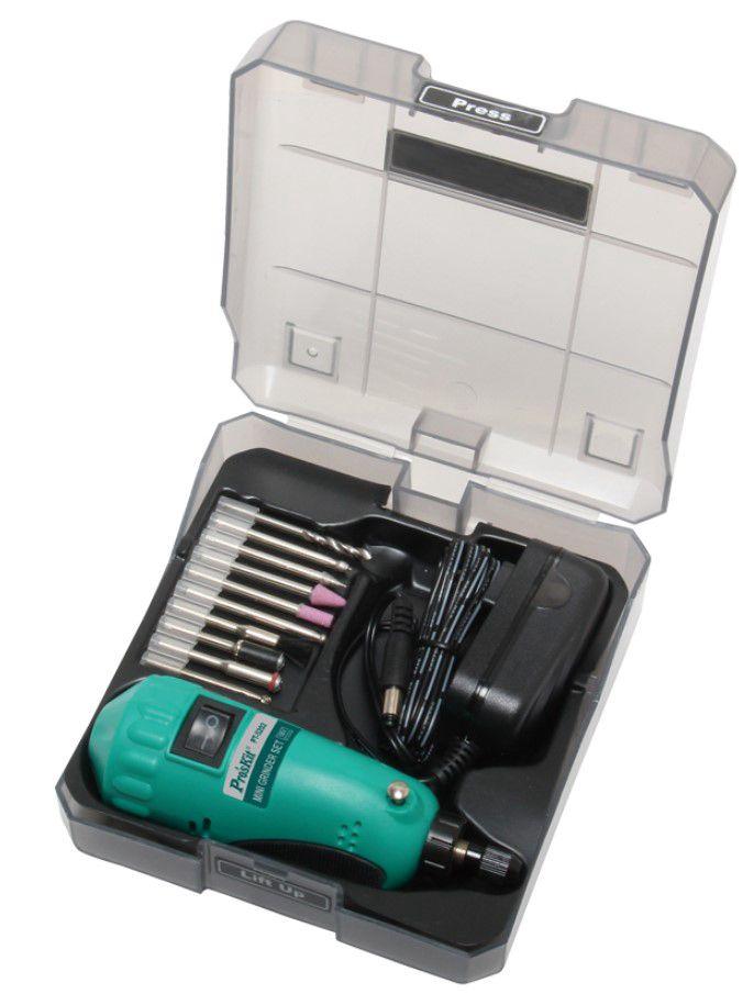 Mini puurimis-/ graveerimiskomplekt PT-5202F Pro'sKit