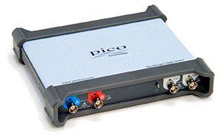 Ostsilloskoop PicoScope 5244D, 2 kan., 200 MHz, AWG, FGEN, koos jaoturitega, PICO