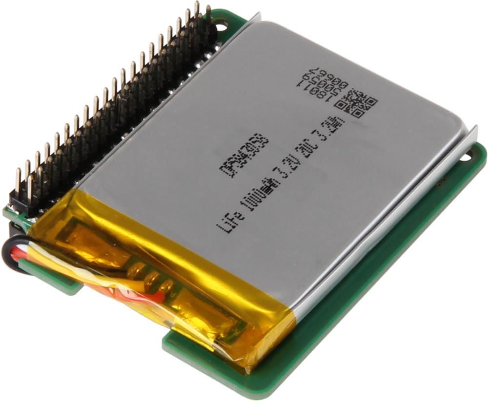 Battery module with LiFePo4 10000mAh battery for power supply module RB-StromPI3
