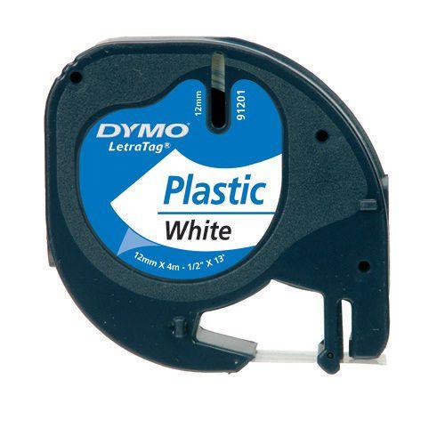 Etiketiprinteri lint DYMO 12mm x 4m, plastik, 59422