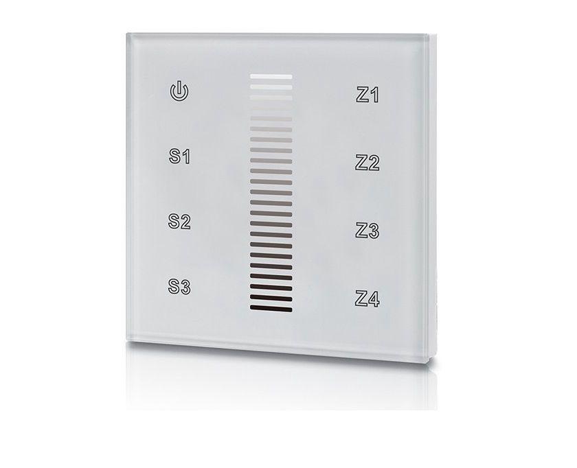 DALI Touch Dimmer Switch, 4 tsooniga, valge, Sunricher