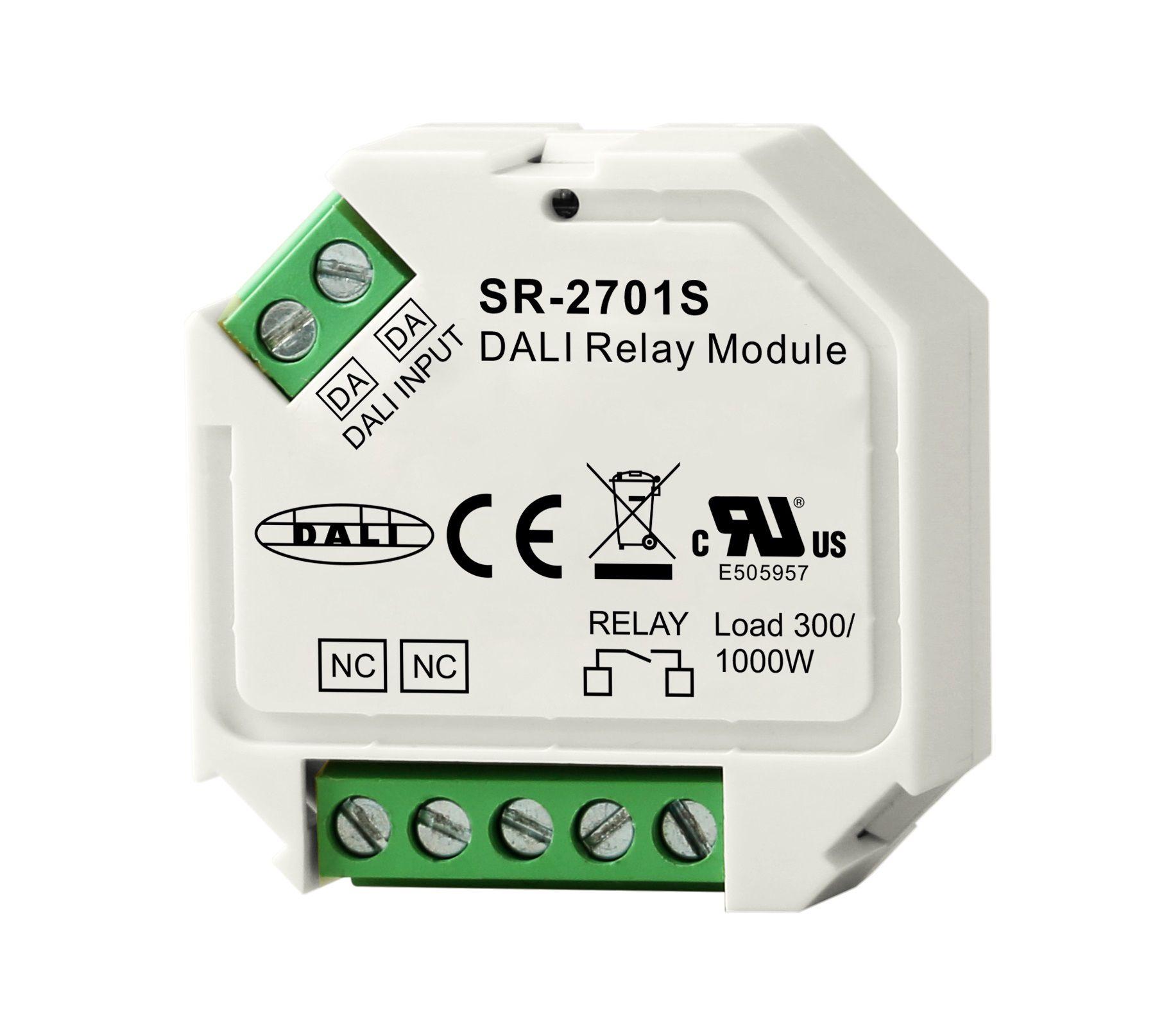 DALI Relay Module ON/OFF 100-240Vdc, Sunricher