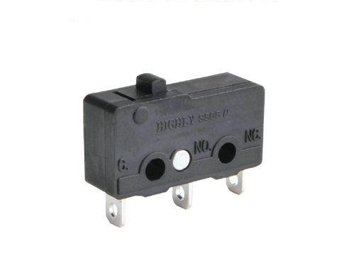 Mikrolüliti 3A / 250VAC, SNAP ACTION, ilma kangita, SPDT, 19.8 x 6.4 x 10.2 mm, HIGHLY