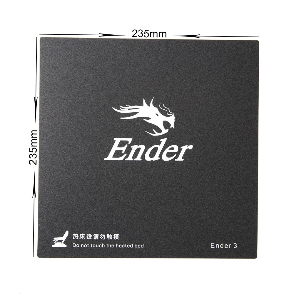 Original replacement print surface, adhesive 235x235mm ENDER-3 CREALITY 3007070029