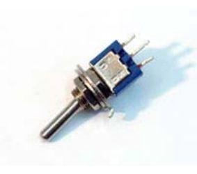 Tumbler 3k. 2pos.  250V 1.5A mini