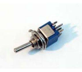 Tumbler 6k. 2pos.  250V1.5A mini