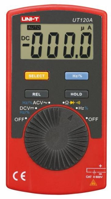 Multimeeter sageduse mõõtmisega, UNI-T