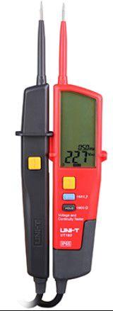 Tester AC/DC voolu mõõtmiseks (sh kolmefaasiline AC vool),  UNI-T
